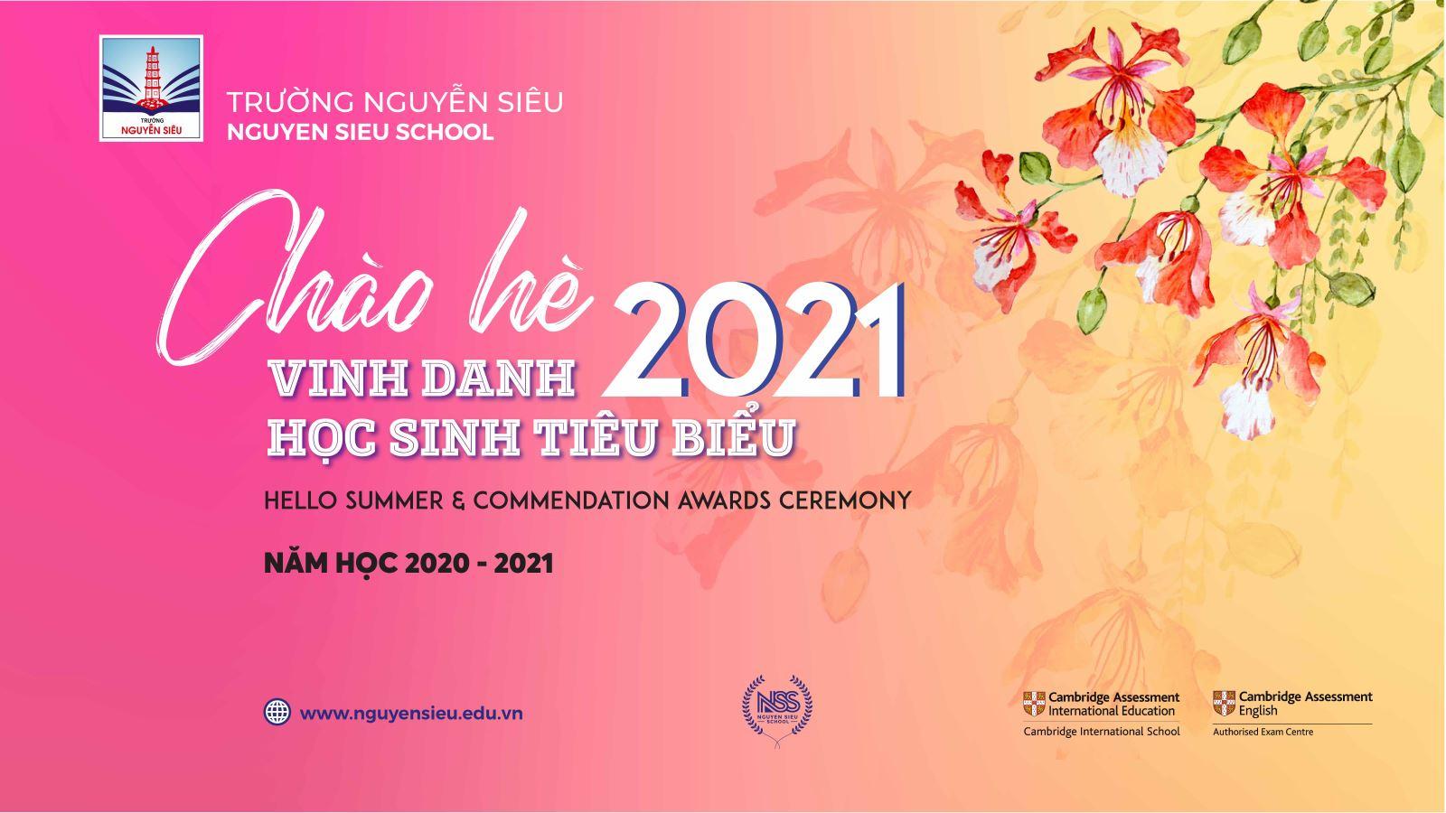 CHÀO HÈ 2021 trực tuyến trên Fanpage và YouTube Trường Nguyễn Siêu