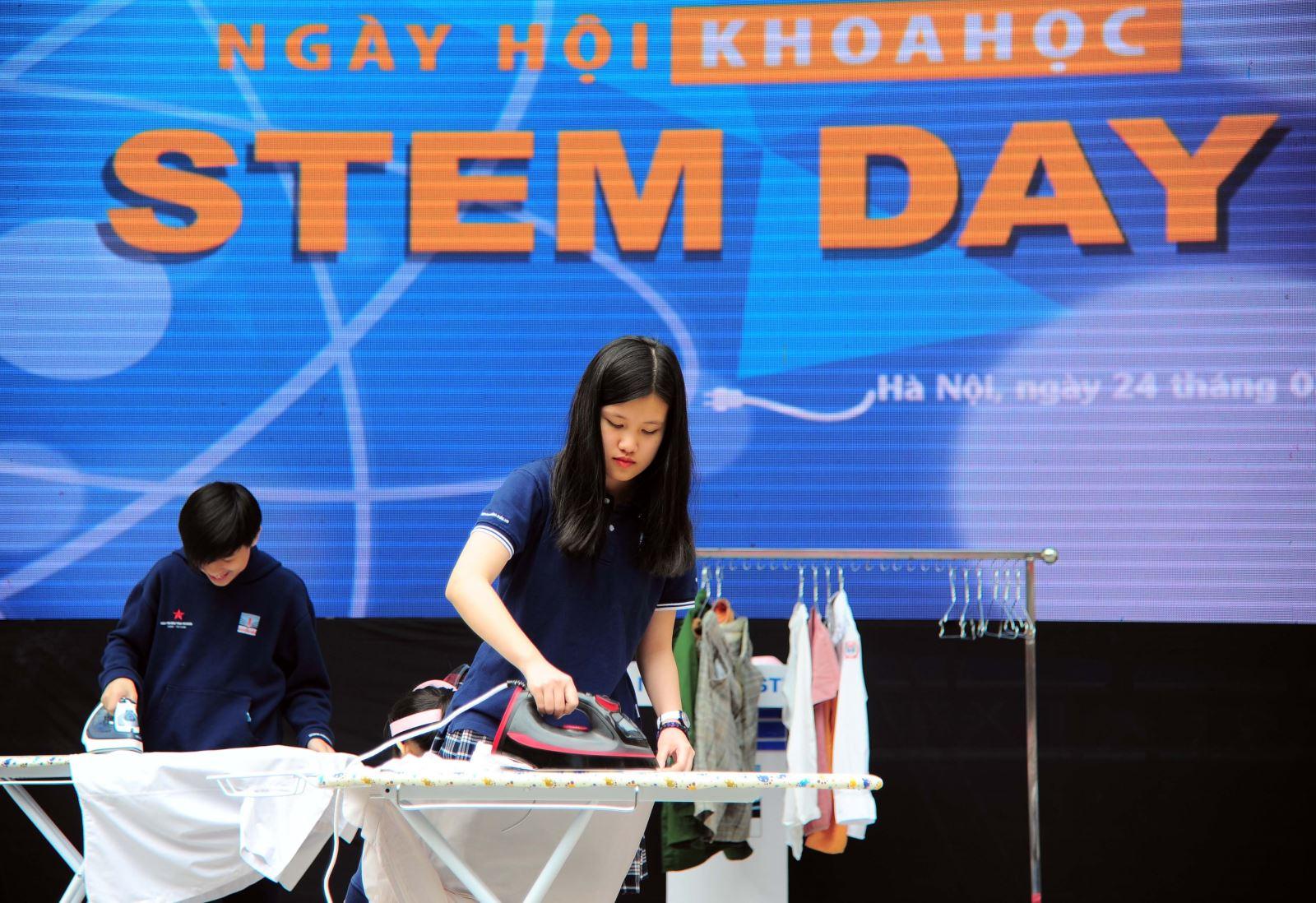 Ngày hội STEM của thầy trò trường Nguyễn Siêu