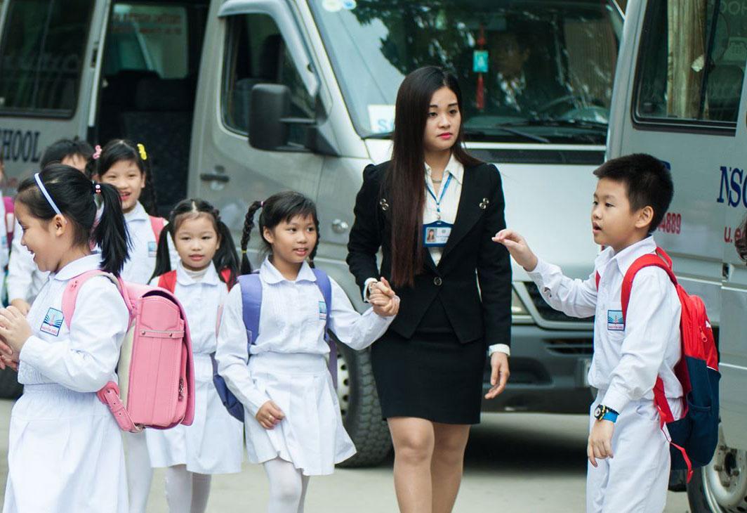 Danh sách điểm ô tô đưa đón HS Nguyễn Siêu